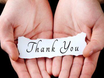 ¿Cómo reacciona un beneficiado al recibir vuestra ayuda?